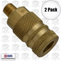 "Coilhose 152 2pk 1/4"" NPT Male M Coupler Body Air Fitting"
