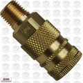 "Coilhose 152-DL 1/4"" NPT Male M Coupler Body Air Fitting"