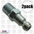 "Coilhose 1602 2pk 1/4"" NPT Female T Plug Air Fitting"