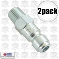 "Coilhose 5903 2pk 1/4"" NPT Male P Plug Air Fitting"
