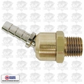 Coilhose B0404 BS Ball Swivel Brass 1/4 NPT X 1/4'' Barb Fitting