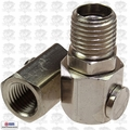 "Coilhose LMF0404S-DL 1/4"" MPT x 1/4"" FPT Orbital Swivel Fitting"