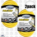 Coleman Cable 01489 2pk 100' 14/3 SJEOW Polar/Solar Extension Cord