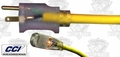 Coleman Cable 01789 100' 10/3 SJEOW Polar/Solar Extension Cord