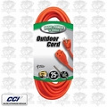 Coleman Cable 02307 25' 16/3 Indoor/Outdoor Extension Cord