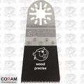 "Coram Tools MJI 045 1-1/4"" (45mm) Japanese Tooth Fine Wood Blade"