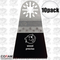"Coram Tools MJI 055 10pk 2-5/32"" (55mm) Japanese Tooth Fine Wood Blades"