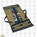 Custom Leathercraft 1173 32-Pocket Socket Tool Roll Pouch