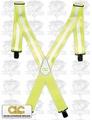 Custom Leathercraft 14110 Hi-Viz Suspenders