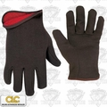 Custom Leathercraft 2013 Brown Jersey Work Gloves