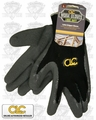Custom Leathercraft 2031-L Rubber Coated String Knit Work Gloves