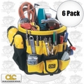 Custom Leathercraft 4122 5G Bucket Tool Bag Holder Organizer
