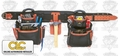 Custom Leathercraft 51449 Signature Series 4-Piece Framer's Tool Belt