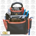 Custom Leathercraft 51683 Signature Series 10 Pocket Nail & Tool Bag