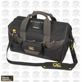 "Custom Leathercraft L232 18"" 45 Pocket Tech Gear ""LED Light"" Tool Bag"