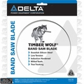 "Delta 28-253 142"" X 1"" X 2 TPI Timber Wolf Band Saw Blade"