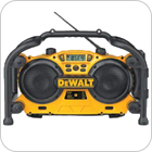 Cordless Tool Battery Powered Radios