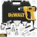 DeWalt D26960K Heat Gun Kit with LCD display