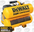 DeWalt D55151 1.1HP Continuous 4 Gallon Electric Hand Carry Compressor