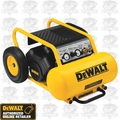 DeWalt D55171 1.5 HP, 7.5 Gallon Electric Wheeled Portable Compressor