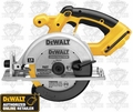 DeWalt DC390B 18 Volt Cordless Circular Saw with Carbide Blade