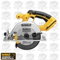 "DeWalt DC390B 6-1/2"" 18 Volt Cordless Circular Saw with Carbide Blade"
