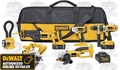 DeWalt DC6PAKIA Heavy-Duty XRP 18V Cordless 6-Tool Combo Kit