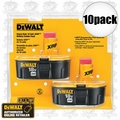 DeWalt DC9096-2 10pk 18volt XRP Battery Combo Pack (20 Batteries)