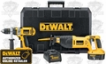 DeWalt DC988CA Hammerdrill / Recip Saw Combo Kit