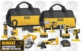 DeWalt DC9PAKIA Heavy-Duty XRP 18V Cordless 9-Tool Combo Kit