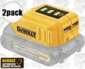 DeWalt DCB090 12V& 20V Max USB Phone Charger Power Source