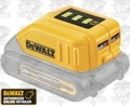 DeWalt DCB090 USB Lithium-Ion Phone Charger Power Source
