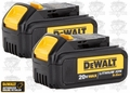 "DeWalt DCB200 ""Factory Packaged"" NIP Li-Ion Battery Gauge 3.0"