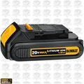 DeWalt DCB201 Lithium Ion Compact Battery Pack Built-in Fuel Gauge