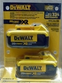 DeWalt DCB204-2 2pk 20V XR 4.0A Lith Ion Battery *Factory Packaged