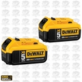DeWalt DCB205-2 2pk 20V MAX* Premium XR 5.0 Ah Li-Ion Battery Open Box