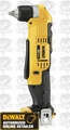 DeWalt DCD740B Lithium Ion 3/8'' Right Angle Drill/Driver