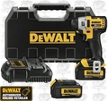"DeWalt DCF895L2 Lithium Ion 1/4"" 3-Speed Brushless Impact Driver (3.0Ah)"