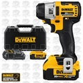 "DeWalt DCF895M2 Lithium Ion 1/4"" 3-Speed Brushless Impact Driver (3.0Ah)"