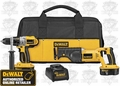 DeWalt DCK251X Heavy-Duty Cordless 2-Tool Combo Kit
