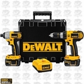 DeWalt DCK266L (Reconditioned) Hammer Drill/Impact Combo Kit