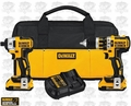 DeWalt DCK286D2 Brushless Hammer Drill/Impact Driver Kit