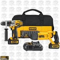 DeWalt DCK292L2 Hammerdrill / Recip Saw Combo Kit