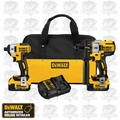 DeWalt DCK296M2 XR Brushless Hammerdrill-Impact Combo 2-4ah Batts