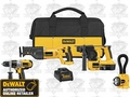 DeWalt DCK452X Heavy-Duty XRP Cordless 4-Tool Combo Kit