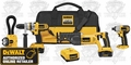 DeWalt DCK475L Heavy-Duty XRP Cordless 4-Tool Combo Kit