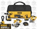 DeWalt DCK550X Heavy-Duty XRP Cordless 5-Tool Combo Kit