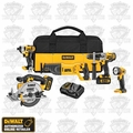 DeWalt DCK590L2 (Reconditioned) Li-Ion 5 Tool Combo Kit
