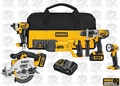 DeWalt DCK592L2 Premium 5-Tool Cordless Combination Kit