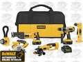 DeWalt DCK650X Heavy-Duty XRP Cordless 6-Tool Combo Kit